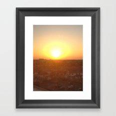 klj. Framed Art Print