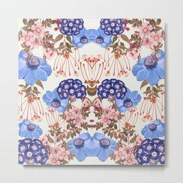 Blue Bloom Metal Print