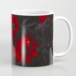 Blood Red Flowers Coffee Mug