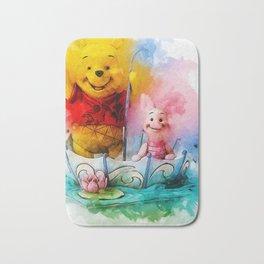 Winnie and Piglet Art Bath Mat