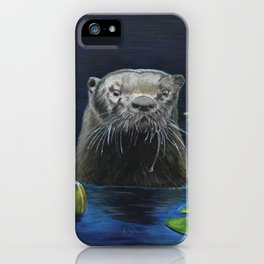 The River Otter by Teresa Thompson iPhone Case