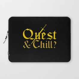 Quest & Chill? Laptop Sleeve