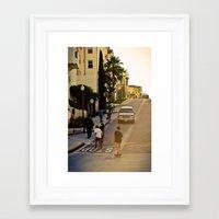 skate Framed Art Prints featuring skate. by Andre Elliott