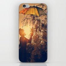 sunshine umbrella iPhone & iPod Skin