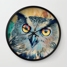 Wise One Wall Clock