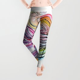 Betta Fish Leggings