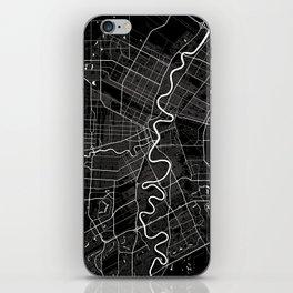 Winnipeg - Minimalist City Map iPhone Skin