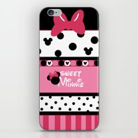 minnie iPhone & iPod Skins featuring Sweet Minnie  by Dino cogito