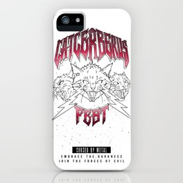 Catcerberus Fest iPhone Case