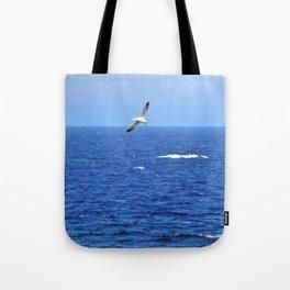 Northern Gannets in Flight Tote Bag