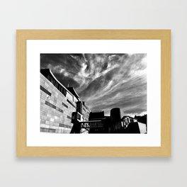 Clouds Over Te Papa Framed Art Print
