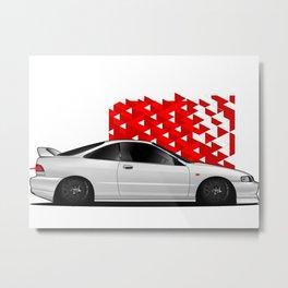 Acura Integra Metal Print