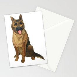 The German Shepard Stationery Cards
