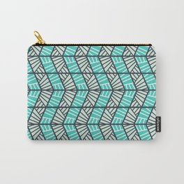 Blue Retro  Carry-All Pouch