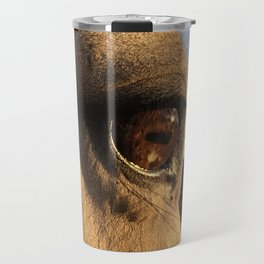 Golden Mare Travel Mug
