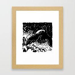 Cloud Framed Art Print