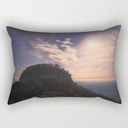 Pilot Mountain Morning Rectangular Pillow