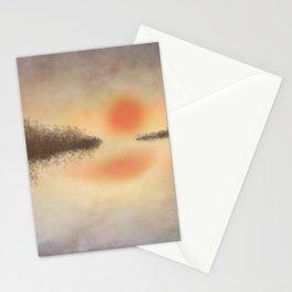Dusk on the Lake Stationery Cards