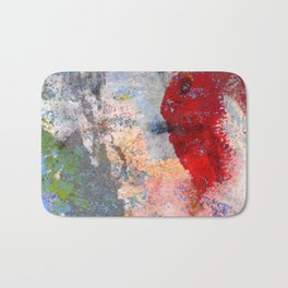 Chipping Paint Bath Mat