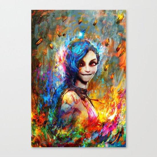 Jinx Canvas Print