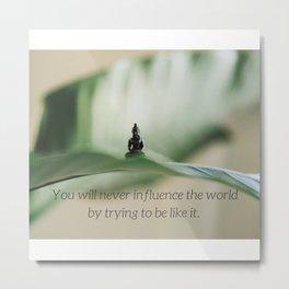 UNIQUE | Buddha | Nature | Planet | Plants | Serenity | Love | Design | Metal Print
