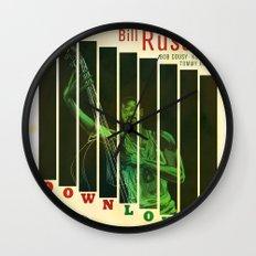 Down Low Wall Clock