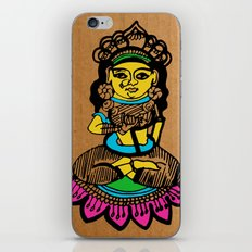 Indian goddess  iPhone Skin