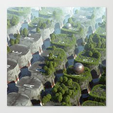 Keyworld Canvas Print