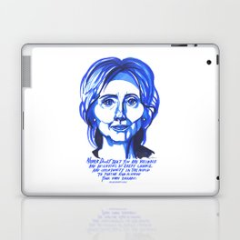 Hillary Rodham Clinton Laptop & iPad Skin