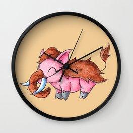 Piggy Mammoth Wall Clock