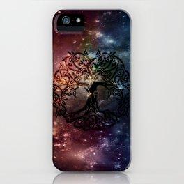 Viking Tree of life iPhone Case