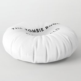 The Zombie Room  —  R.D. Ronald Floor Pillow