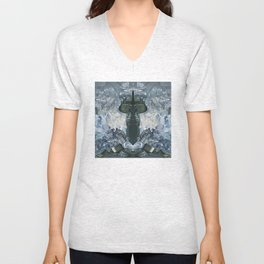 crystaux Unisex V-Neck