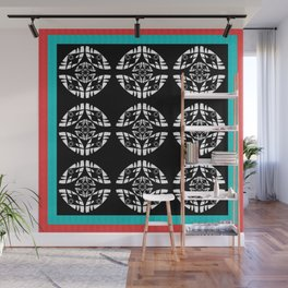Space Clearing Geometric Sequence Wall Mural