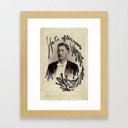Hot Afternoon Framed Art Print