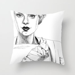 The Bride #2 Throw Pillow