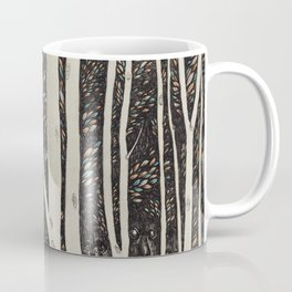 Forest Faces  Coffee Mug