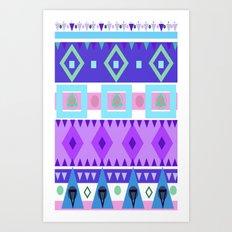 Winter Patterns Art Print