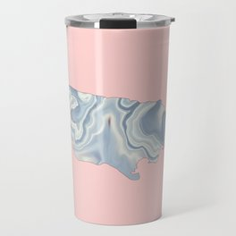 Jamaica map Travel Mug
