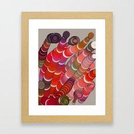 WURM #1 Framed Art Print