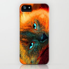 Mystic kitty iPhone Case