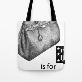 B is for Birkin Tote Bag
