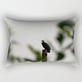 Eagle at Sunrise Rectangular Pillow