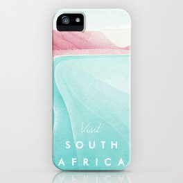 South Africa iPhone Case