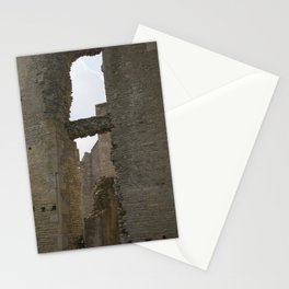 Old English Ruin Photograph Stationery Cards