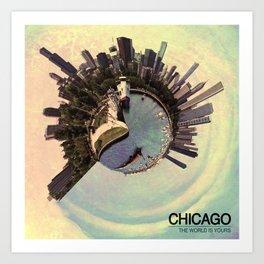 Chicago - Vintage Art Print