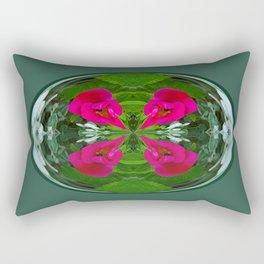 Flower Globe Rectangular Pillow