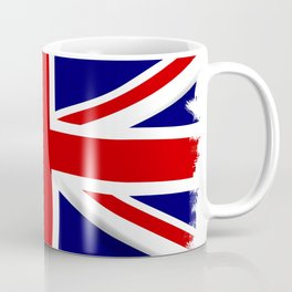 Union Jack Grunge Coffee Mug