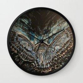 Shadow Owl - Bringer of Night Wall Clock