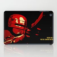 robocop iPad Cases featuring Robocop - Alternative poster by Lorenzo Imperato